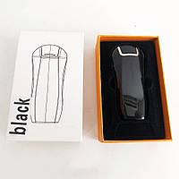 Електроімпульсна запальничка в подарунковій коробці Україна HL-126. Колір чорний, фото 1