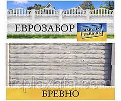 """Європаркани «Колода"""" сірий, 2000х500 (Харків)"""