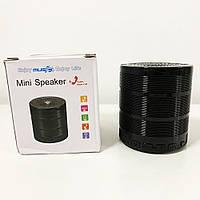 Портативна колонка bluetooth MP3 плеєр SPS G28. Колір чорний