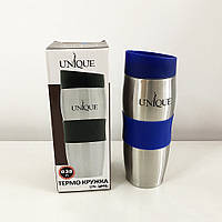 Термокружка UNIQUE UN-1072 0.38 л. Колір синій