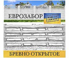 """Європаркани «Колода відкрите"""" сірий, 2000х500 (Харків)"""