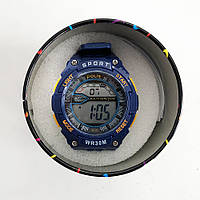 Годинник наручний Polit, в коробці. Колір: синій з помаранчевим