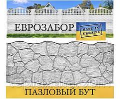 """Європаркани «Бут пазловый"""" сірий, 2000х500 (Харків)"""