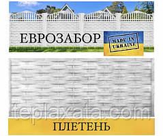 Європаркани «Тин» сірий, 2000х500 (Харків)