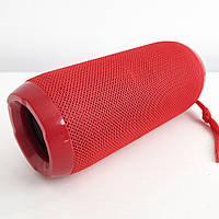 Bluetooth-колонка TG-117 портативная влагостойкая. Цвет: красный