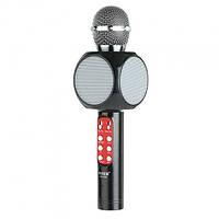 Беспроводной микрофон караоке bluetooth WSTER WS-1816. Цвет: черный
