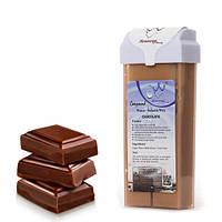 Касета (катридж) з воском для депіляції Konsung Chocolate, 150 г ШОКОЛАД