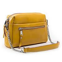 Жіноча сумка через плече крос-боді шкіра А. Rai класична сумочка з натуральної шкіри, фото 1
