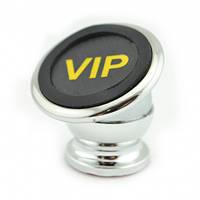 Держатель для телефона с магнитом HOL-CT690 VIP Gold Magnet. Цвет: серебро