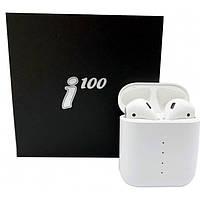 Беспроводные Bluetooth наушники Sensor I100 TWS Stereo Pop-Up