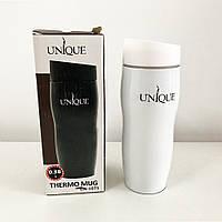 Термокружка UNIQUE UN-1071 0.38 л. Цвет: белый