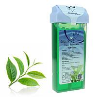 Касета (картридж) з воском для депіляції Konsung Tea tree, 150 г ЧАЙНЕ ДЕРЕВО