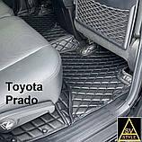 Lexus GX 460 2014 Коврики из Экокожи 3D (URJ150 / 2009-2018) Тюнинг, фото 8