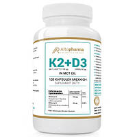 Витамины Altopharma K2 MK7 З НАТТО + D3 2000ІУ