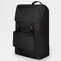 Рюкзак женский / мужской из ткани. Сумка городская. Рюкзак туристический. №5624. Цвет: черный