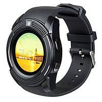 Умные смарт-часы Smart Watch V8. Цвет: черный