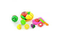 Детский набор овощей и фруктов 23 х 14 х 8 см Разноцветный (2018ACR)