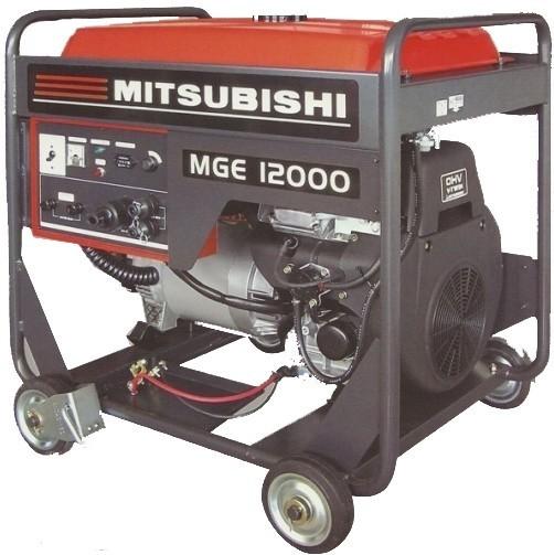 Бензогенератор MITSUBISHI MGE 12000E 8,5 (10,0) кВт