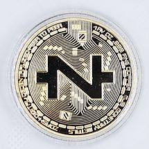 Сувенірна Монета ZCASH золотого кольору., фото 3