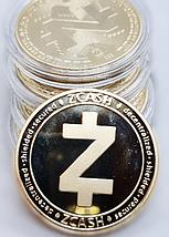 Сувенірна Монета ZCASH золотого кольору., фото 2