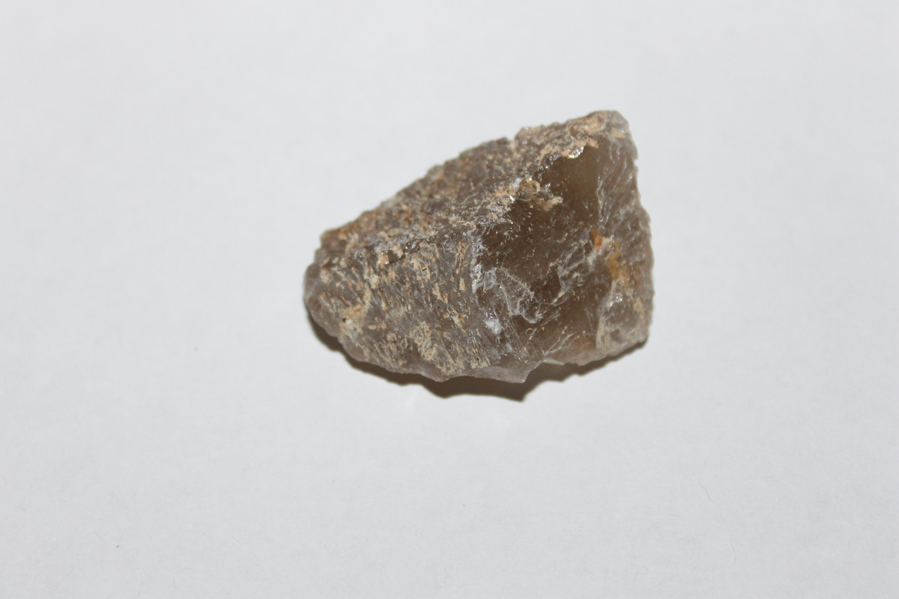 Раух-топаз камень 41*31*19 мм. натуральный дымчатый кварц