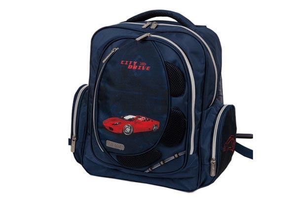 Рюкзак шкільний для хлопчика ZiBi Basic City Drive, 38х32х18 см