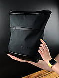 Рюкзак чорний Calvin Klein D48, фото 2