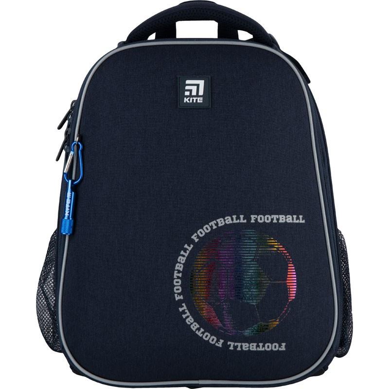 Рюкзак шкільний каркасний для хлопчика Kite Education 531 Football, 38x29x16 см