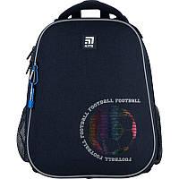 Рюкзак шкільний каркасний для хлопчика Kite Education 531 Football, 38x29x16 см, фото 1
