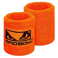 Напульсник махровый BadBoy (1шт) BC-5762, Оранжевый