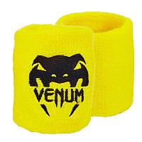 Спортивний напульсник махровий Venum (1шт) BC-5754, Жовтий