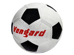 Гумовий футбольний м'яч розмір 5, 350гр. Grain VA 0013 (30)