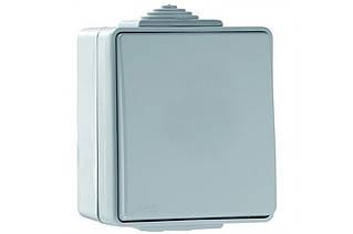 Выключатель кнопочный наружный пылевлагозащищенный IP65 Efapel Waterproof48 16А 250В серый 48151 CCZ