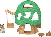 Сильваниан фэмилис Домик на дереве и фигурка ореховой белочки Sylvanian Families Calico Critters