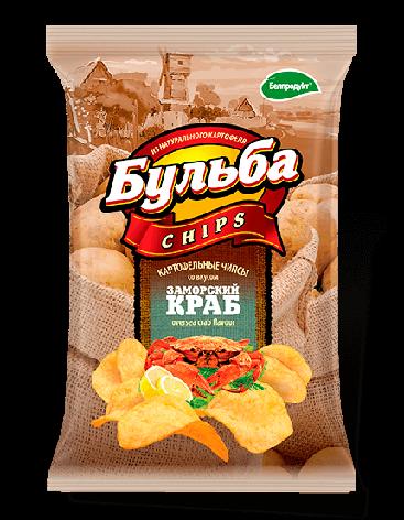 """Чіпси з натуральної картоплі """"Белпродукт"""" 75,г, фото 2"""