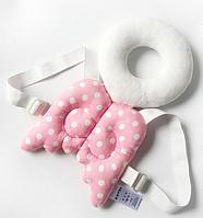 """Подушка - рюкзак для захисту голови і спини малюка """"Янголятко"""", фото 1"""