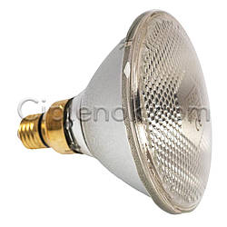 Инфракрасная лампа для обогрева PAR38 175 Вт UFARM белая