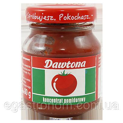 Томатний Концентрат Давтона koncentrat tomat Dawtona 80g 20шт/ящ (Код : 00-00006001)