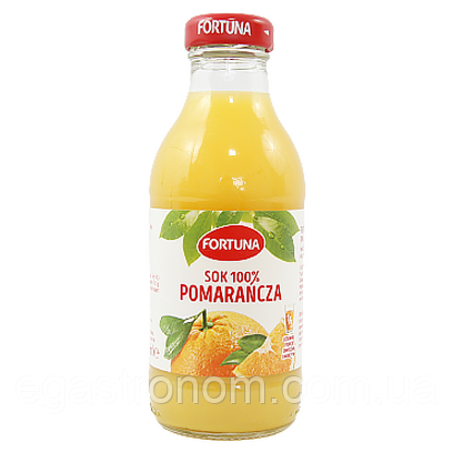 Сік-нектар Фортуна апельсин Fortuna pomarancza 300g 15шт/ящ (Код : 00-00004405)