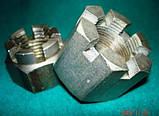Гайка корончатая М48х5 ГОСТ 5918-73. DIN 935, фото 3