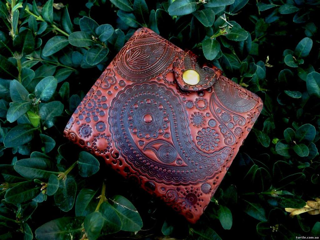 портмоне №5 (коричневое) -459грн. (до Нового года не будет)