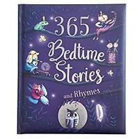 Книга на английском языке 365 Bedtime Stories and Rhymes детская, сказки на ночь (9781680524048)