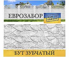 """Європаркани «Бут зубчастий"""" сірий, 2000х500 (Харків)"""
