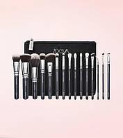 Набір кистей для макіяжу Zoeva Complete Eye Brush Set 15 шт