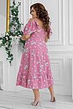 Гарне плаття жіноче Софт Розмір 48 50 52 54 В наявності 2 кольори, фото 4