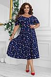 Гарне плаття жіноче Софт Розмір 48 50 52 54 В наявності 2 кольори, фото 3