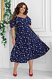 Гарне плаття жіноче Софт Розмір 48 50 52 54 В наявності 2 кольори, фото 7