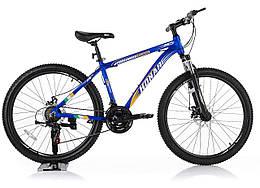 """Велосипед KONAR KA-26""""17, алюминиевая рама 17, колеса 26 дюймов, синий"""
