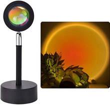 Проекційний світильник заходу, світанку, USB led Lamp