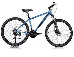 Велосипед KONAR 27.5″17#, алюминиевая рама 17, колеса 27.5 дюймов, голубой